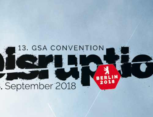 "PRESSEMITTEILUNG – ""Disruption"" – Internationale GSA Convention 2018"